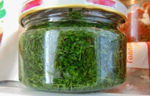 Как заготовить укроп, сельдерей и петрушку на зиму, сохранив их аромат