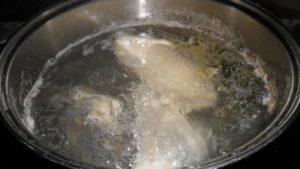 Как я готовлю куриный суп китайской кухни с фунчозой