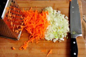 Вкусный рецепт блинов из цукини и моркови