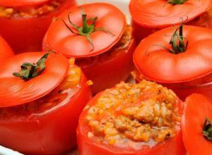 Помидоры на гриле с сыром - рецепт с фото пошагово