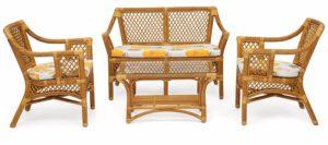 Плетеная и бамбуковая мебель: все секреты ухода раскрыты