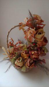 Поделки из сухоцветов: идеи для осеннего букета