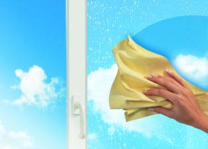 Эффективный метод мытья стекол