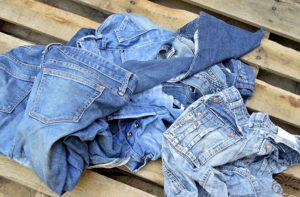 Для старых джинсов