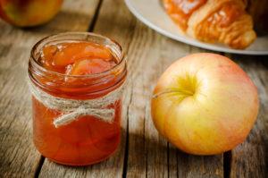 Яблочное бенье