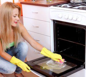 Самый быстрый способ очистить духовку