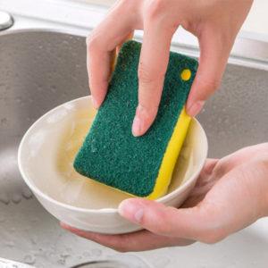Самый легкий способ ухода за губкой для мытья посуды