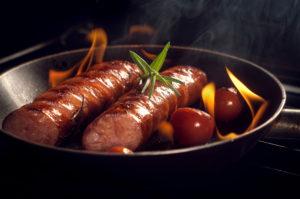 Итальянские колбаски с томатами
