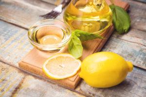 Уксус с лимоном и лаймом