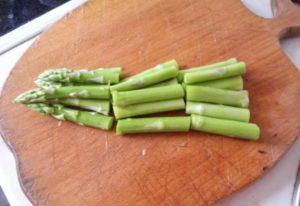 Макароны с весенними овощами