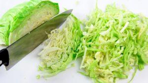 Штрудель с савойской капустой