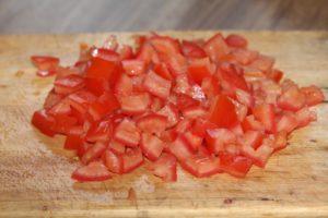 Салат из мангольда с кускусом