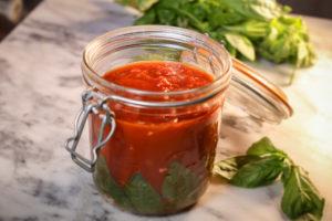 Лингвини с томатным соусом