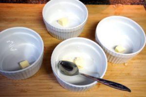 Горячее малиновое суфле