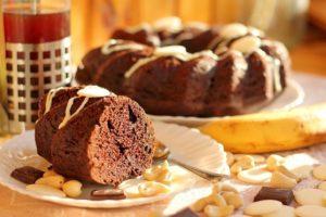 Маффины с бананом и шоколадом
