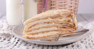 Творожно-сливочный торт