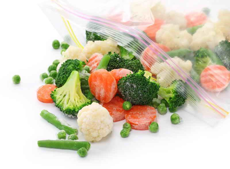 Сохраняем овощи и фрукты методом заморозки