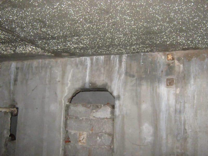Причины образования конденсата на потолке подвала и их устранение