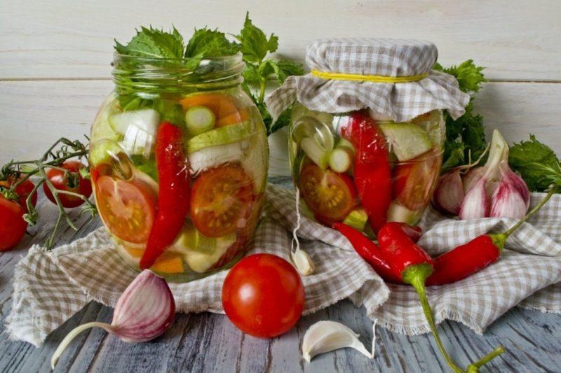 Овощное ассорти «Вкус лета»