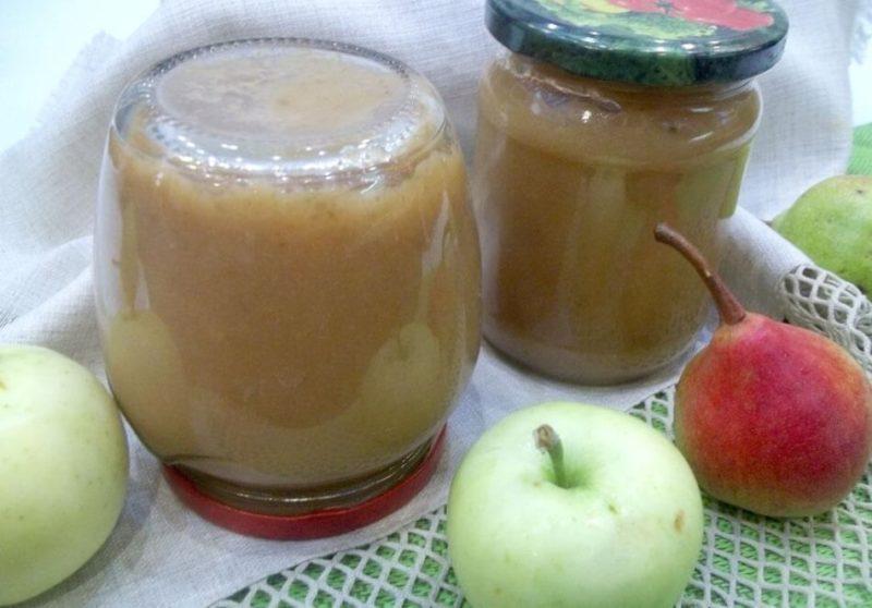 Пюре из яблок на зиму — быстро и вкусно