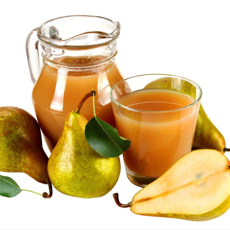 Вкусный и ароматный грушевый сок — как его приготовить