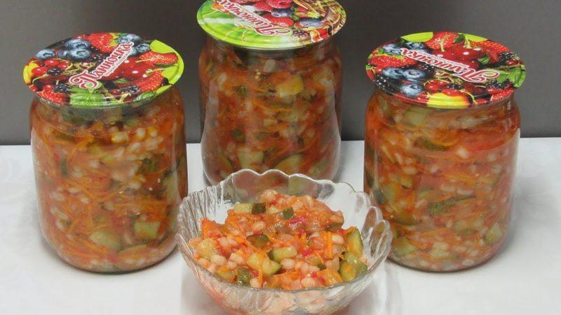 Заправка для солянки из помидоров и огурцов