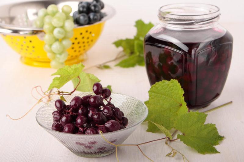 Заготовки на зиму из винограда — оригинальные доступные рецепты