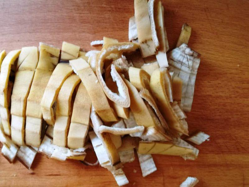 Банановая кожура в роли удобрения