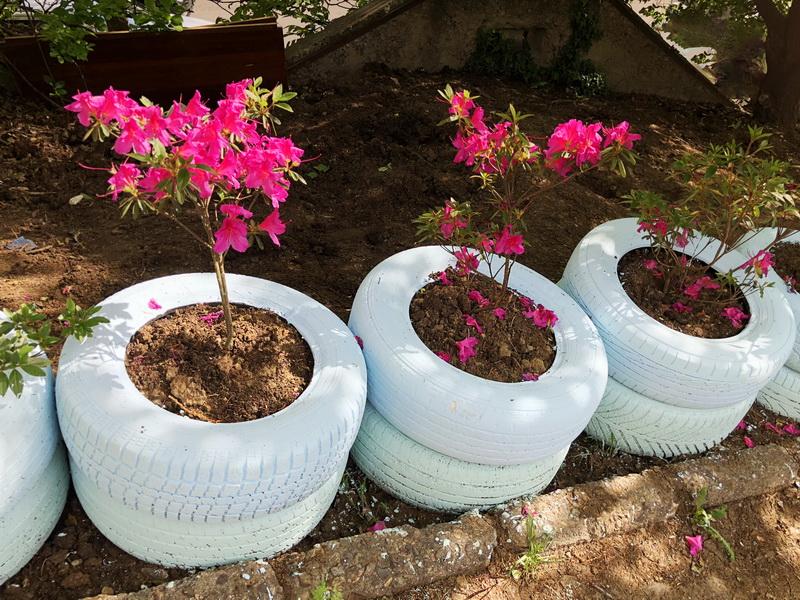 Кашпо и вазоны для сада изготавливаем сами