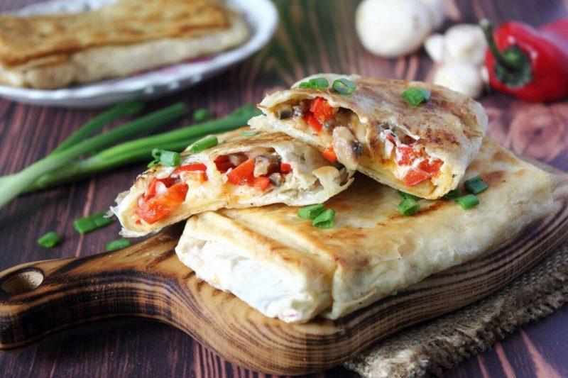Закуска из лаваша — рецепт быстрого приготовления вкусного блюда
