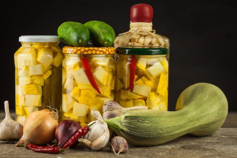 Кабачки: лучшие рецепты маринования на зиму