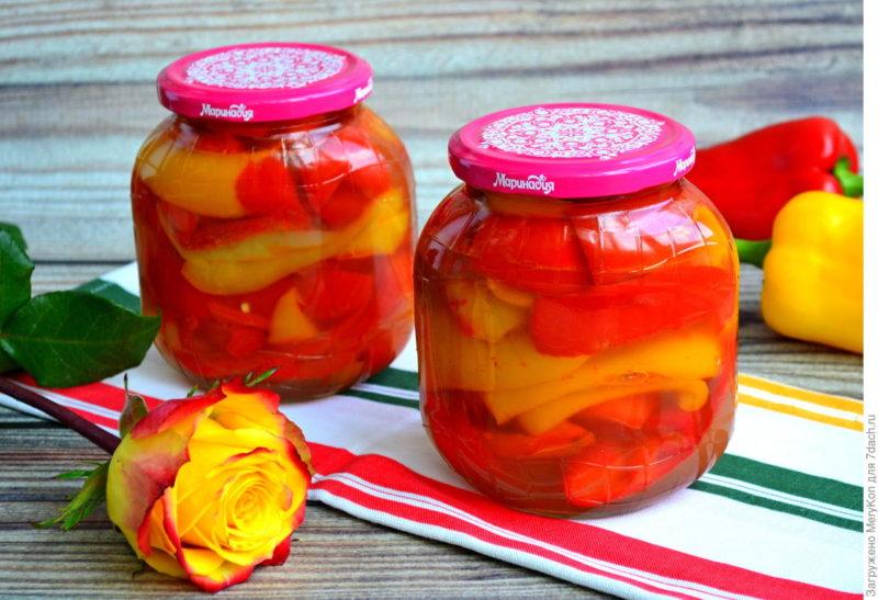 Перец, маринованный на зиму: лучшие рецепты без стерилизации