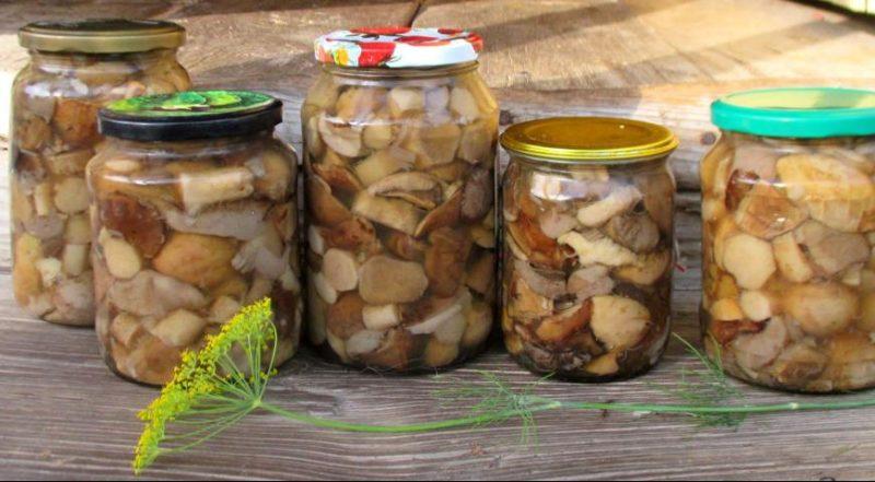 Универсальный маринад для грибов